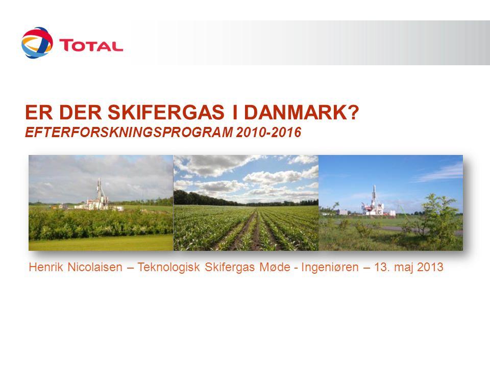 Er der SKIFERGAS I DANMARK Efterforskningsprogram 2010-2016