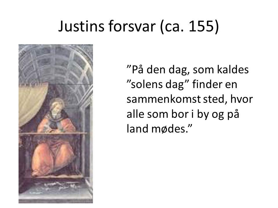 Justins forsvar (ca.