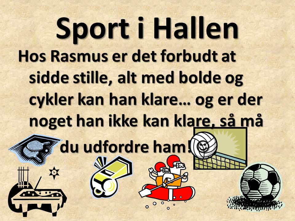 Sport i Hallen