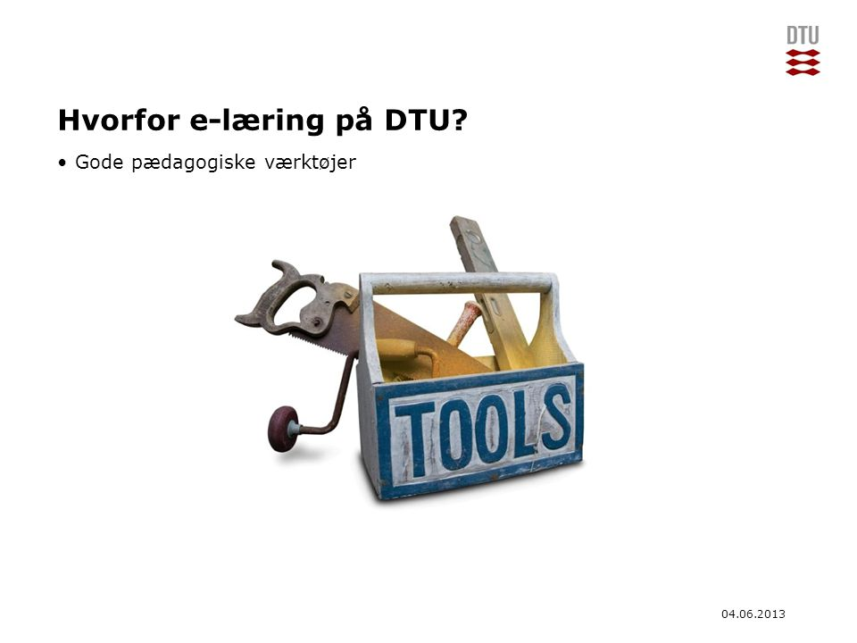 Hvorfor e-læring på DTU