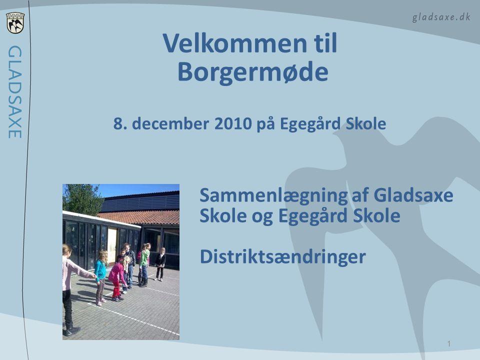 8. december 2010 på Egegård Skole