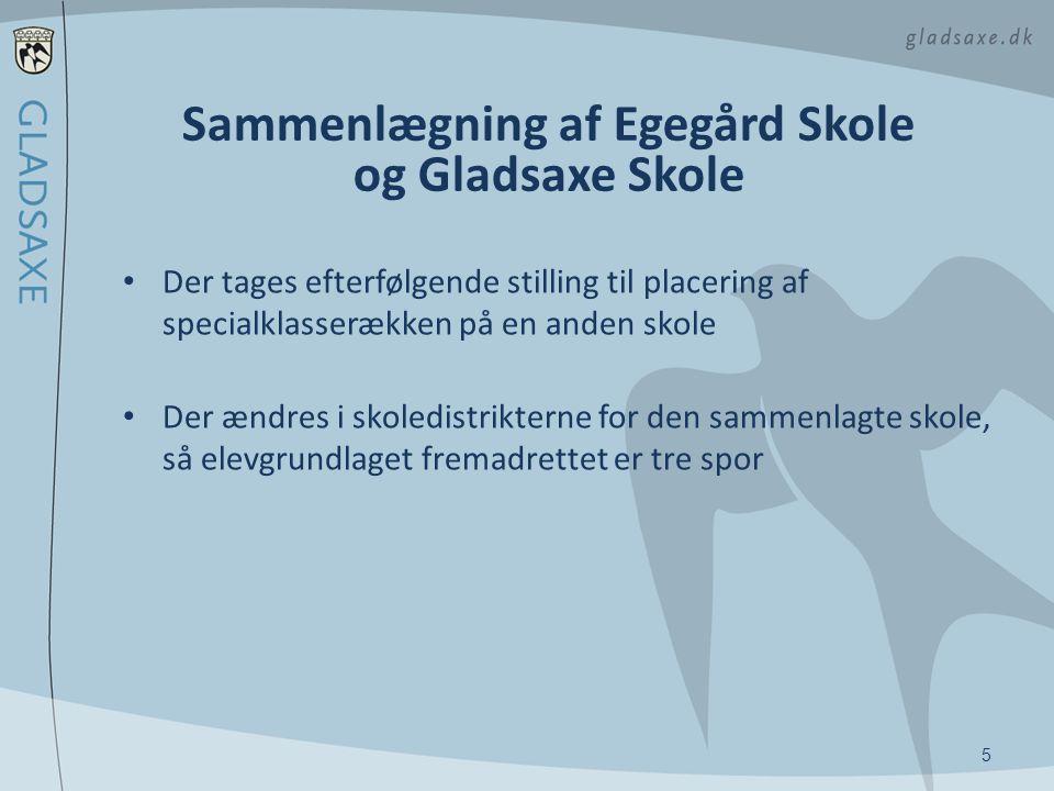 Sammenlægning af Egegård Skole og Gladsaxe Skole