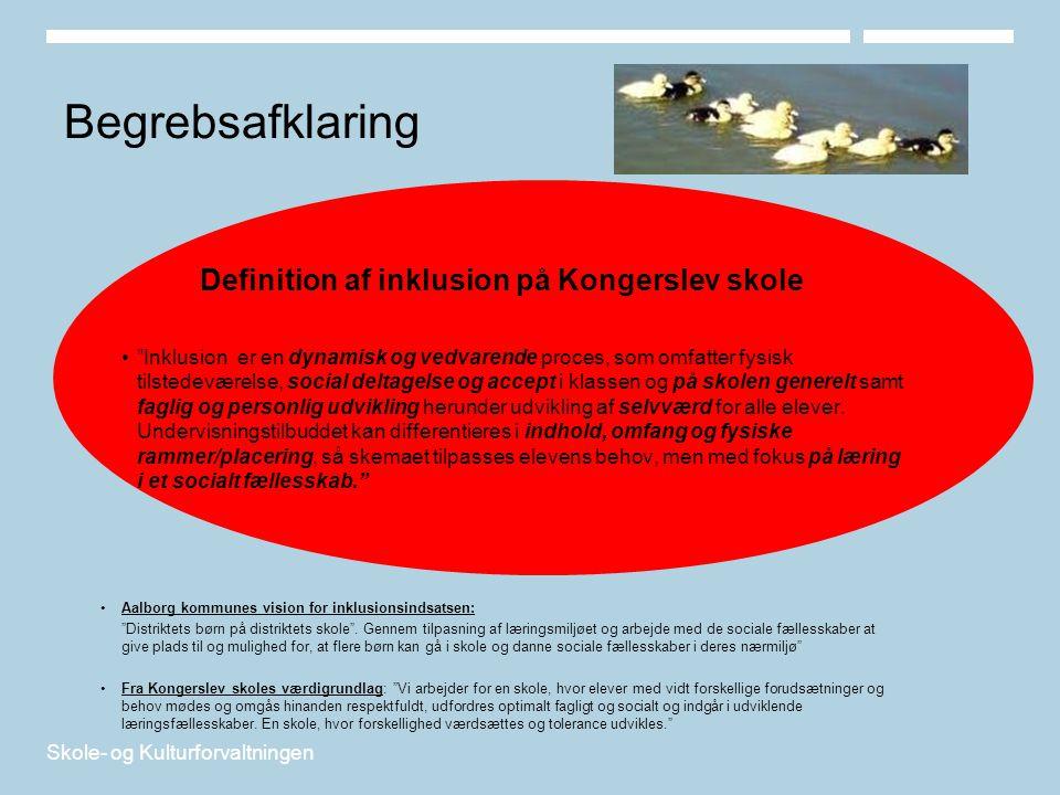 Definition af inklusion på Kongerslev skole
