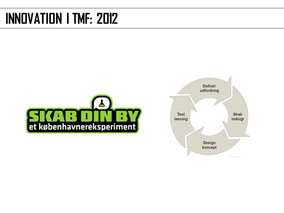 INNOVATION I TMF: 2012