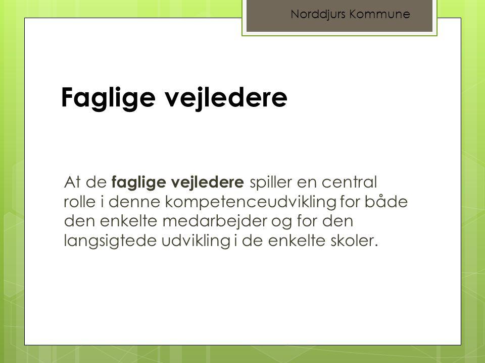 Norddjurs Kommune Faglige vejledere.