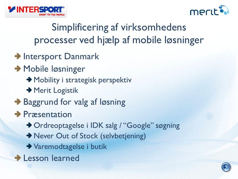 Simplificering af virksomhedens processer ved hjælp af mobile løsninger