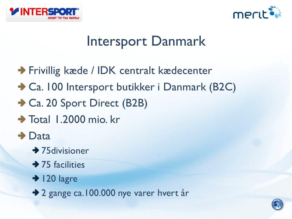Intersport Danmark Frivillig kæde / IDK centralt kædecenter