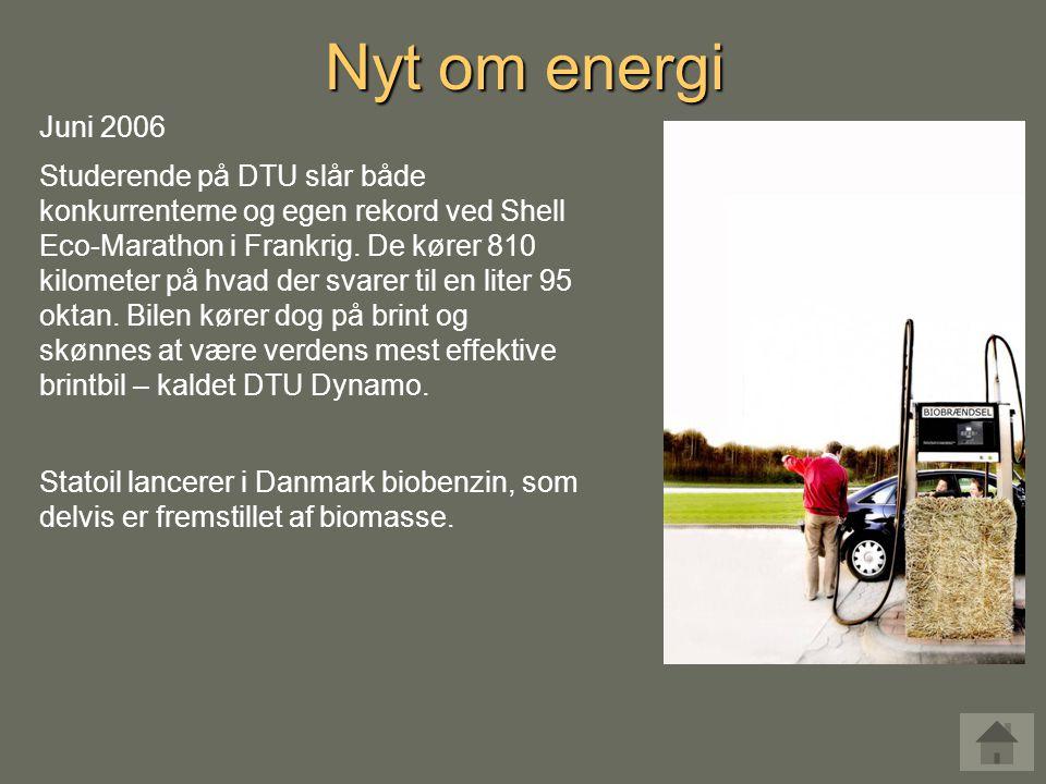Nyt om energi Juni 2006.