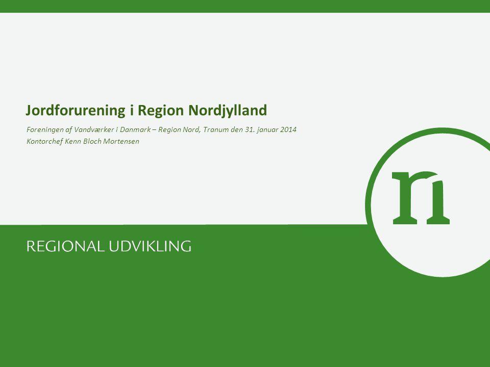 Jordforurening i Region Nordjylland