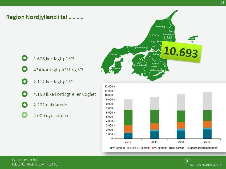 Region Nordjylland i tal …………