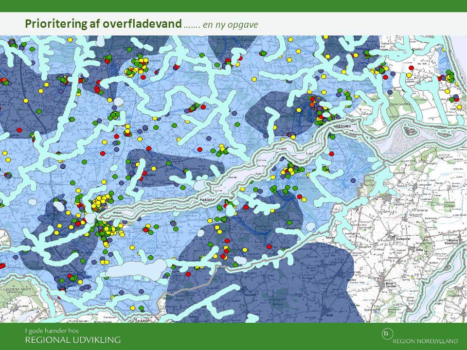 Prioritering af overfladevand ……. en ny opgave