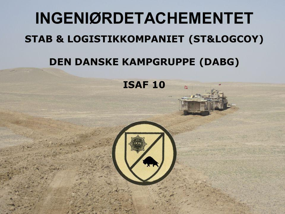 INGENIØRDETACHEMENTET STAB & LOGISTIKKOMPANIET (ST&LOGCOY)