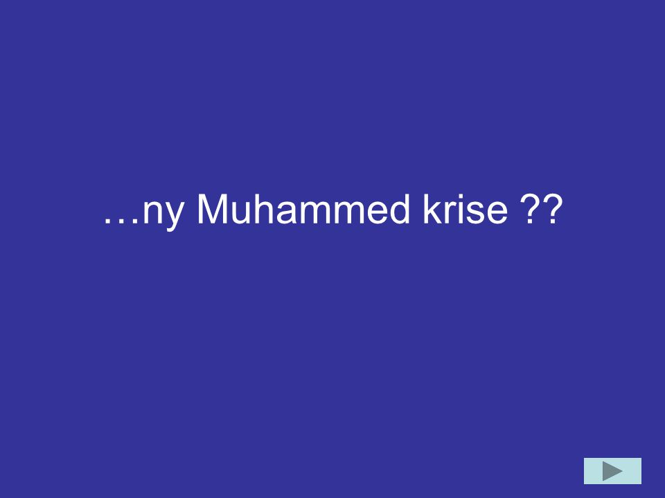 …ny Muhammed krise