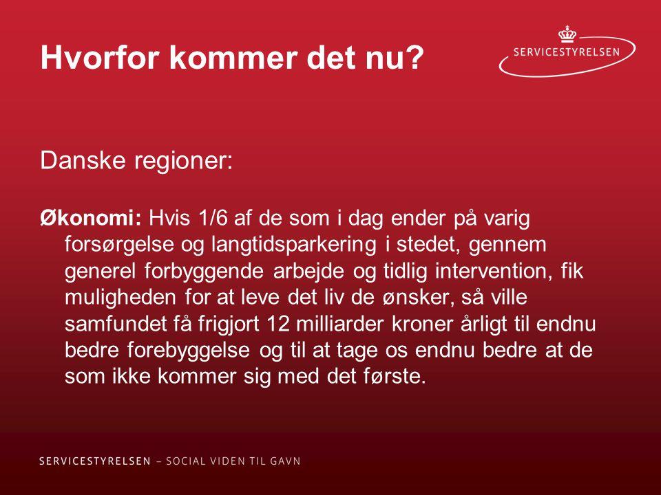 Hvorfor kommer det nu Danske regioner: