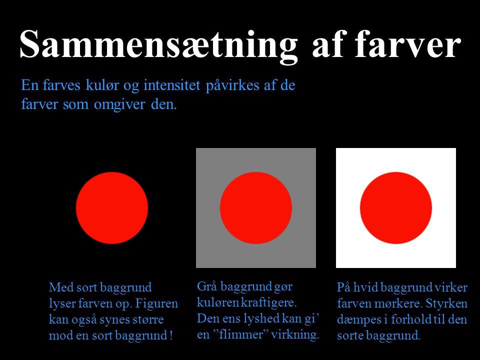 Sammensætning af farver