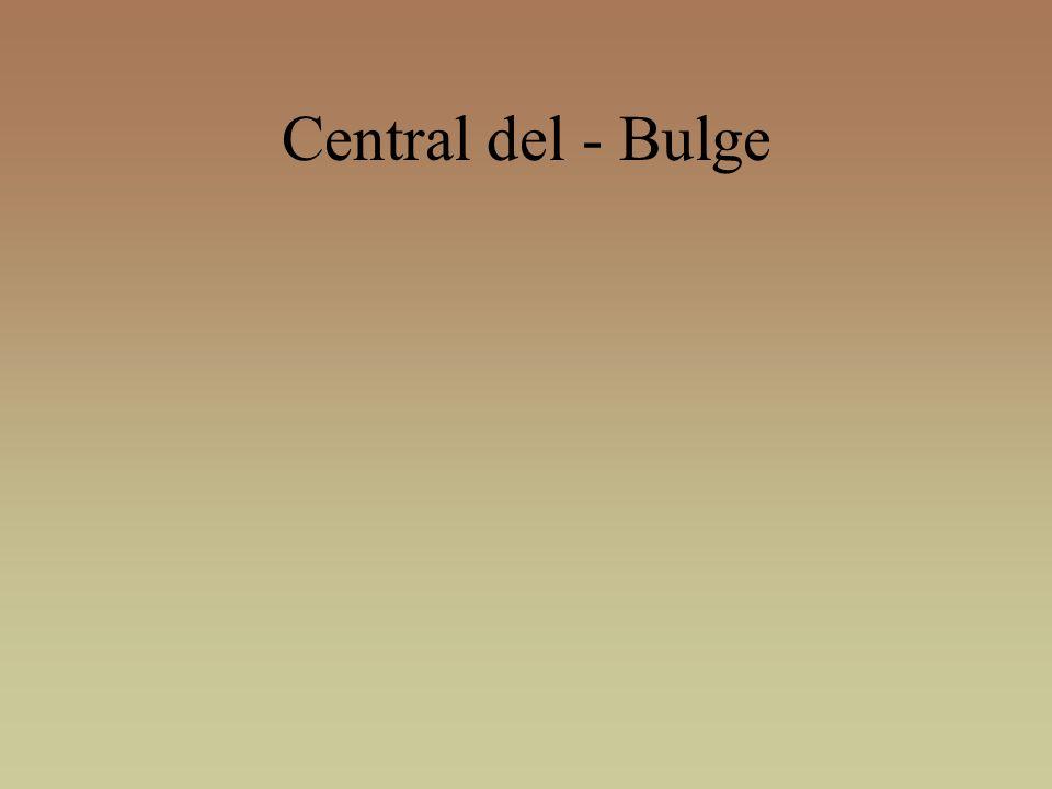 Central del - Bulge