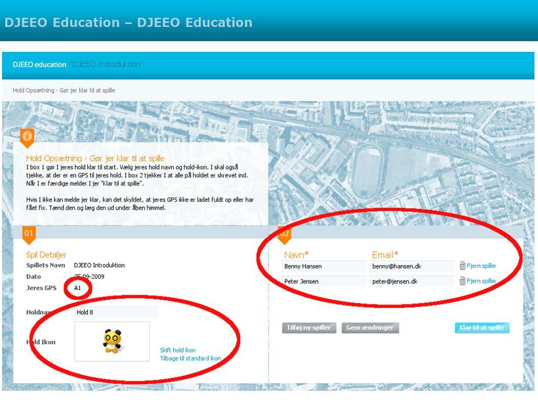 DJEEO Education – DJEEO Education