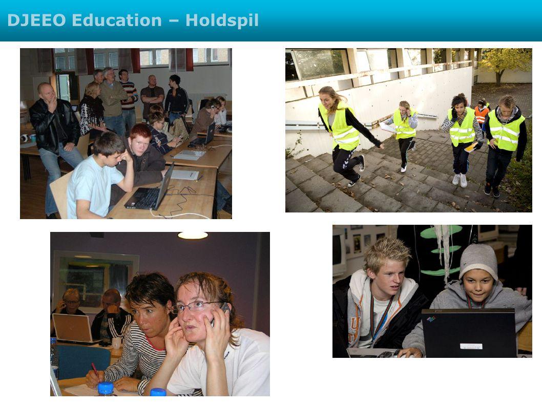 DJEEO Education – Holdspil