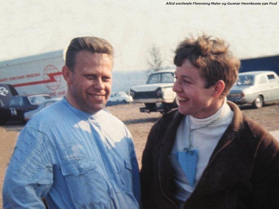 Altid smilende Flemming Maler og Gunnar Henriksens søn Poul