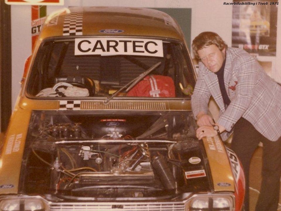 Racerbiludstilling i Tivoli 1971
