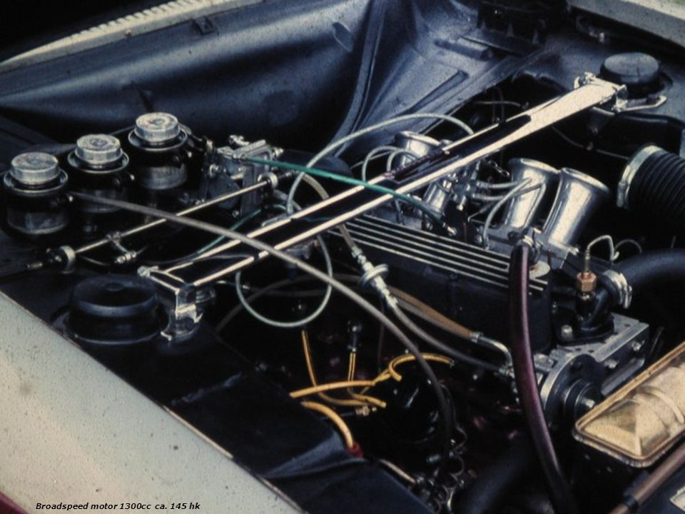 Broadspeed motor 1300cc ca. 145 hk