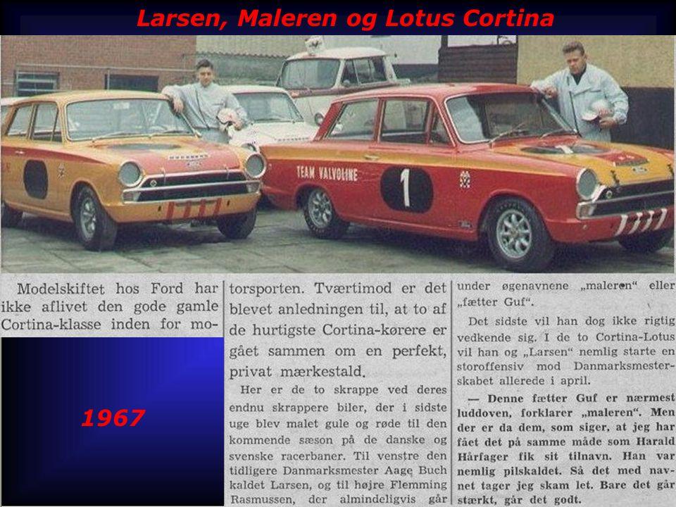 Larsen, Maleren og Lotus Cortina