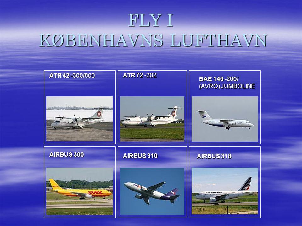 FLY I KØBENHAVNS LUFTHAVN