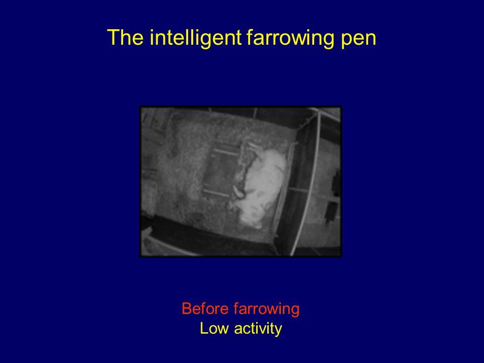 The intelligent farrowing pen