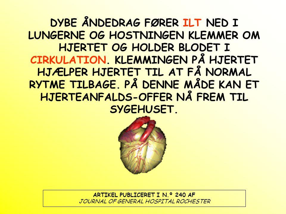 ARTIKEL PUBLICERET I N.º 240 AF JOURNAL OF GENERAL HOSPITAL ROCHESTER