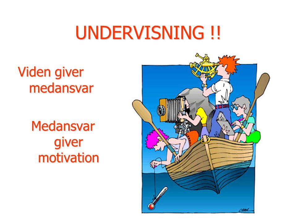 Medansvar giver motivation