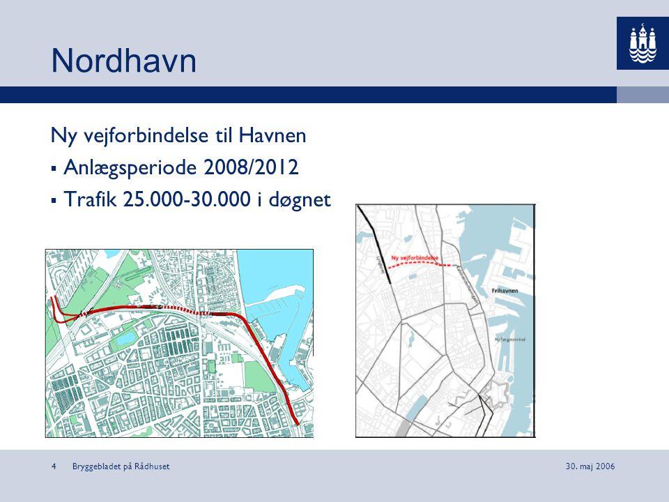 Nordhavn Ny vejforbindelse til Havnen Anlægsperiode 2008/2012