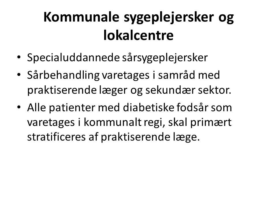 Kommunale sygeplejersker og lokalcentre