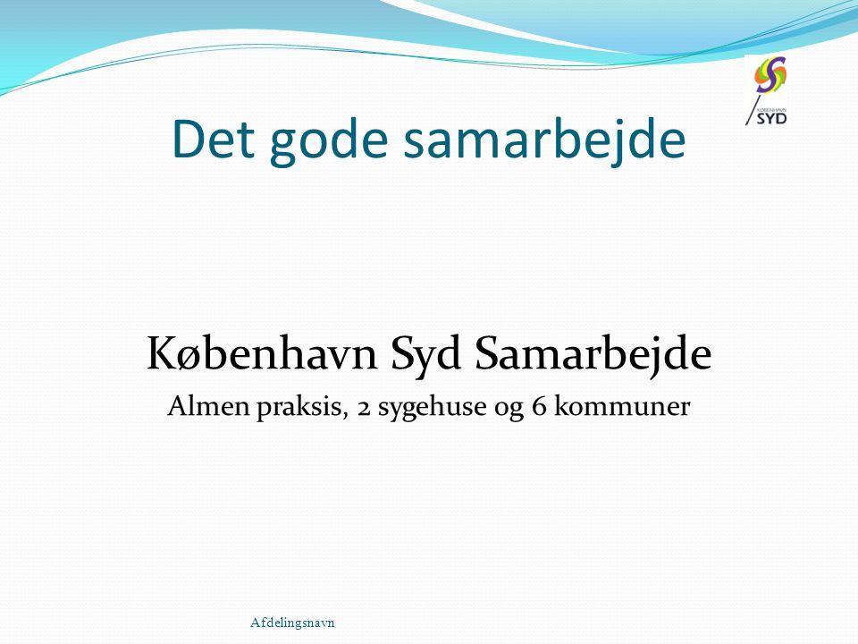 Det gode samarbejde København Syd Samarbejde