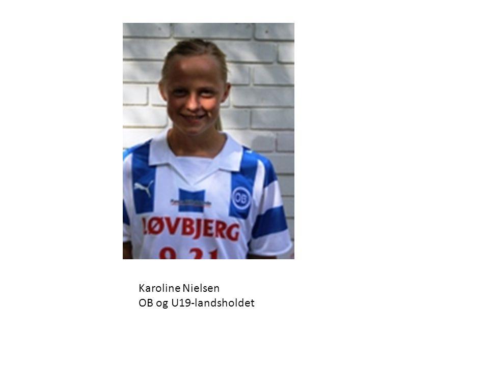 Karoline Nielsen OB og U19-landsholdet