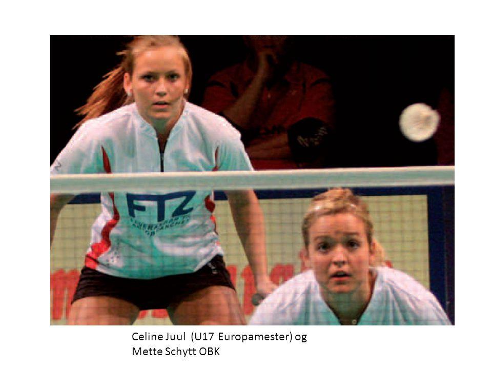 Celine Juul (U17 Europamester) og Mette Schytt OBK