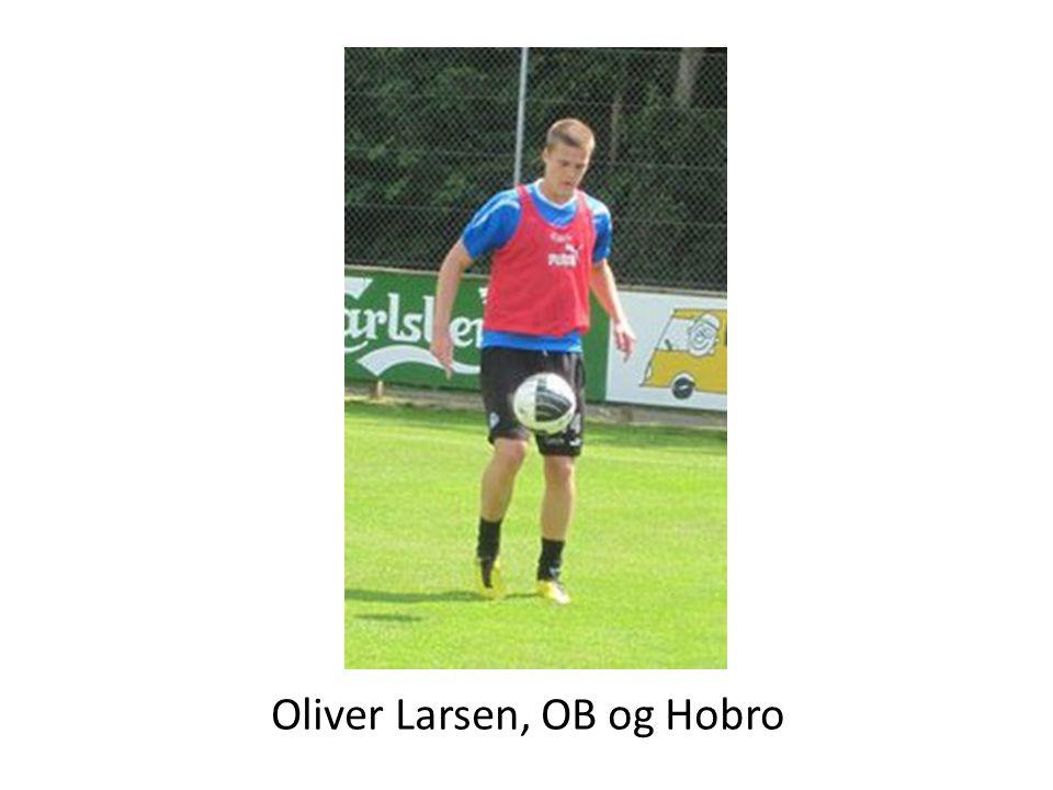 Oliver Larsen, OB og Hobro