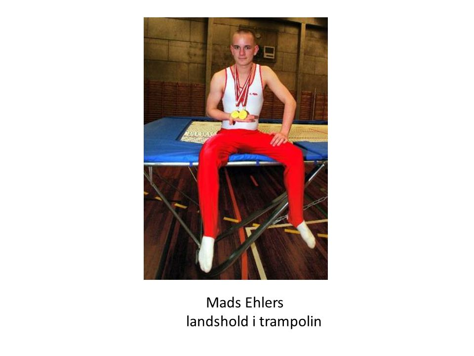 Mads Ehlers landshold i trampolin