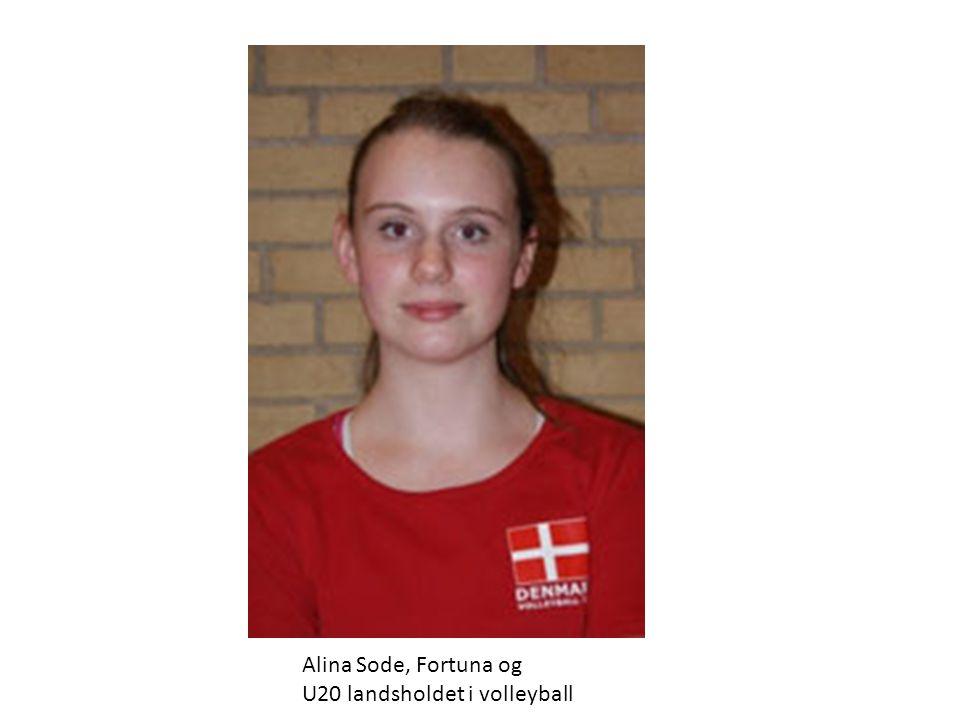 Alina Sode, Fortuna og U20 landsholdet i volleyball