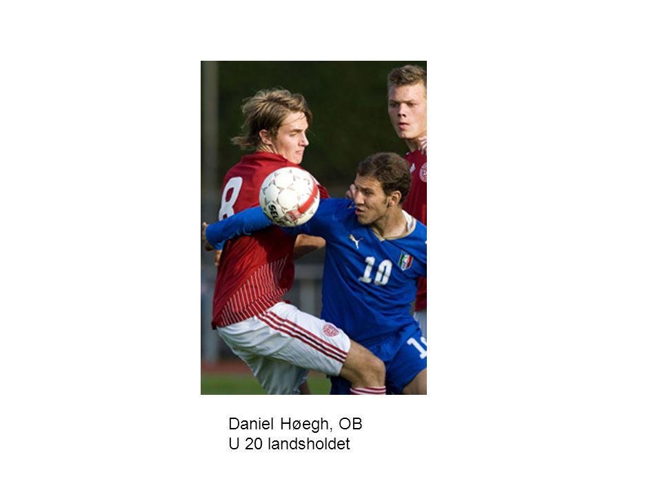 Daniel Høegh, OB U 20 landsholdet