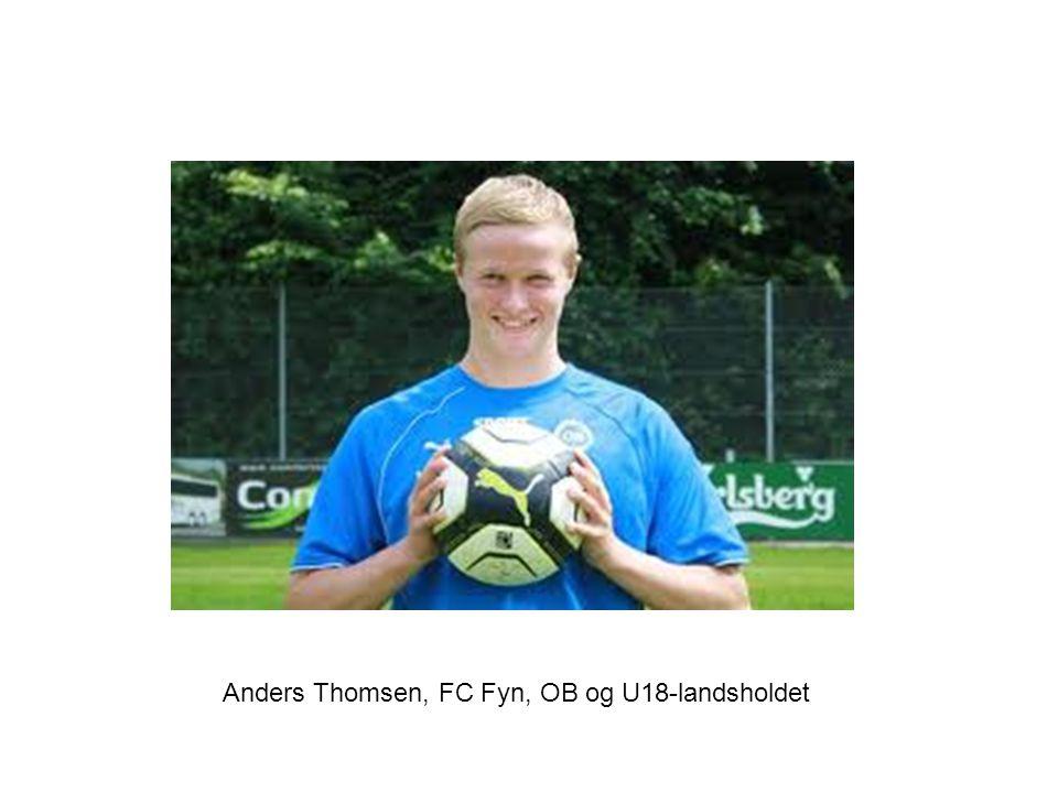 Anders Thomsen, FC Fyn, OB og U18-landsholdet