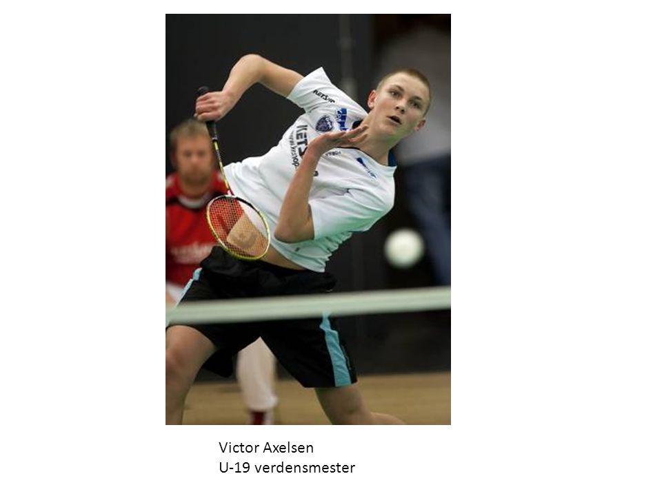 Victor Axelsen – U17 Europamester i badminton Årets fund på Fyn 2009