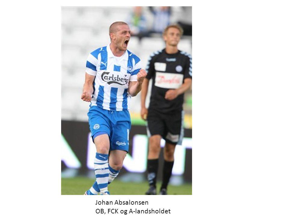 Johan Absalonsen OB, FCK og A-landsholdet