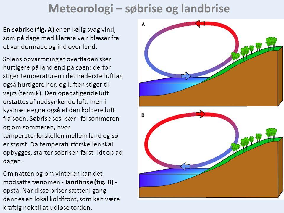 Meteorologi – søbrise og landbrise