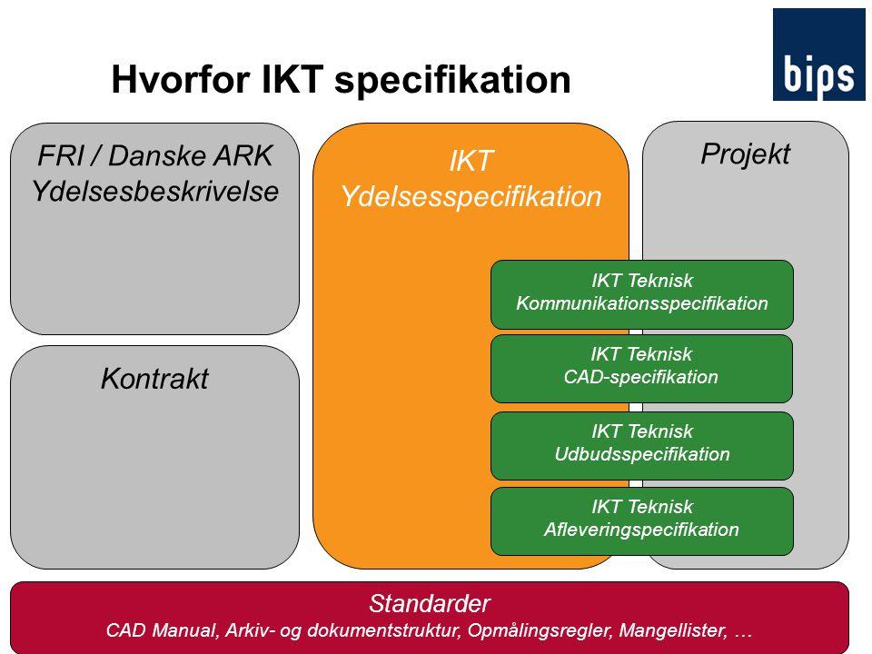 Hvorfor IKT specifikation