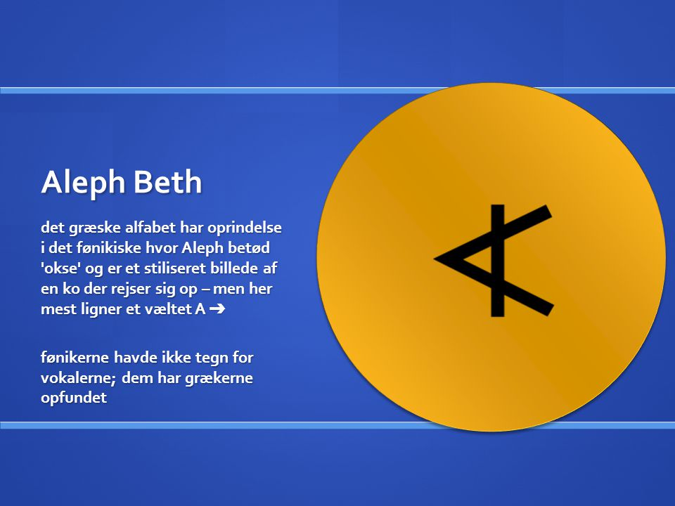 Aleph Beth