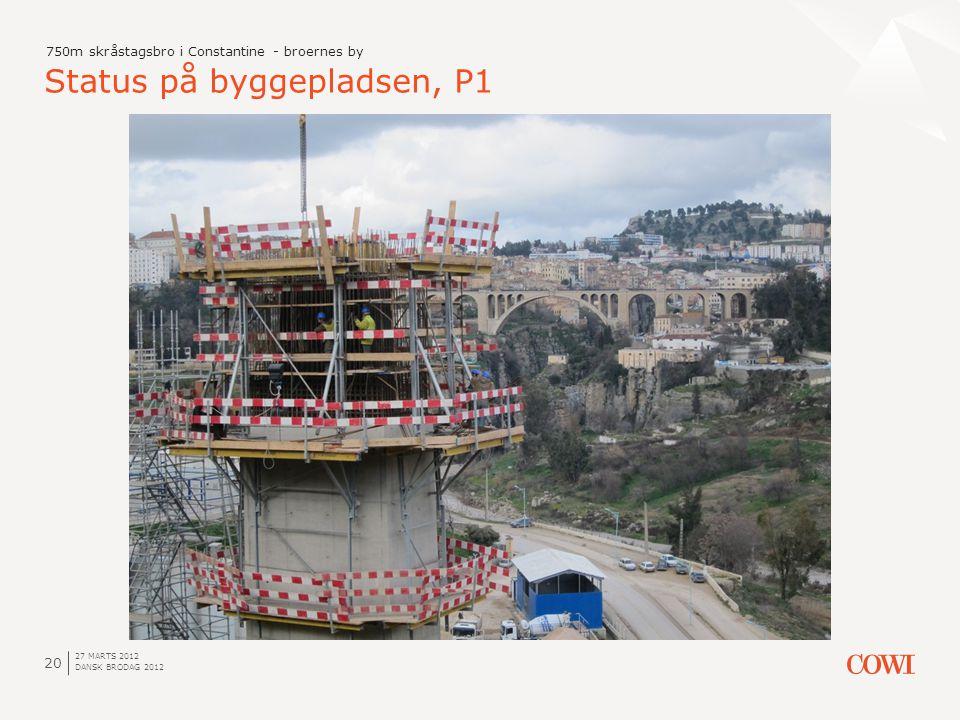 Status på byggepladsen, P1