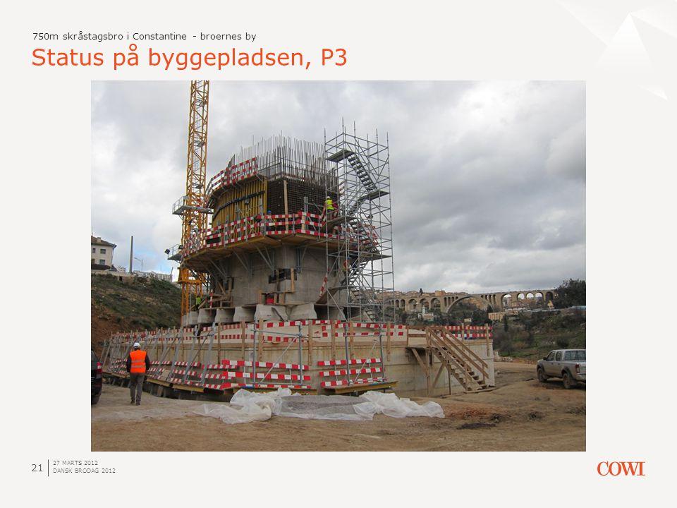 Status på byggepladsen, P3