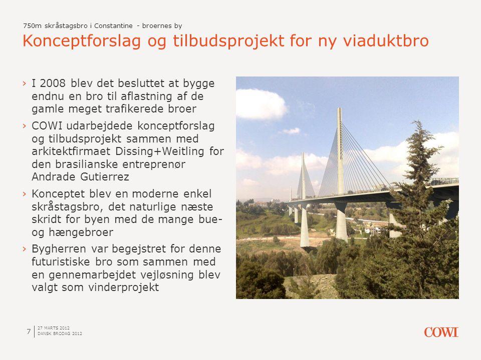 Konceptforslag og tilbudsprojekt for ny viaduktbro