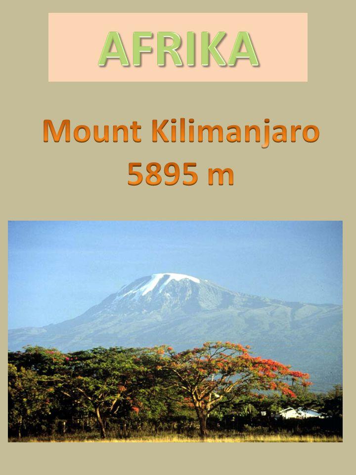 AFRIKA Mount Kilimanjaro 5895 m