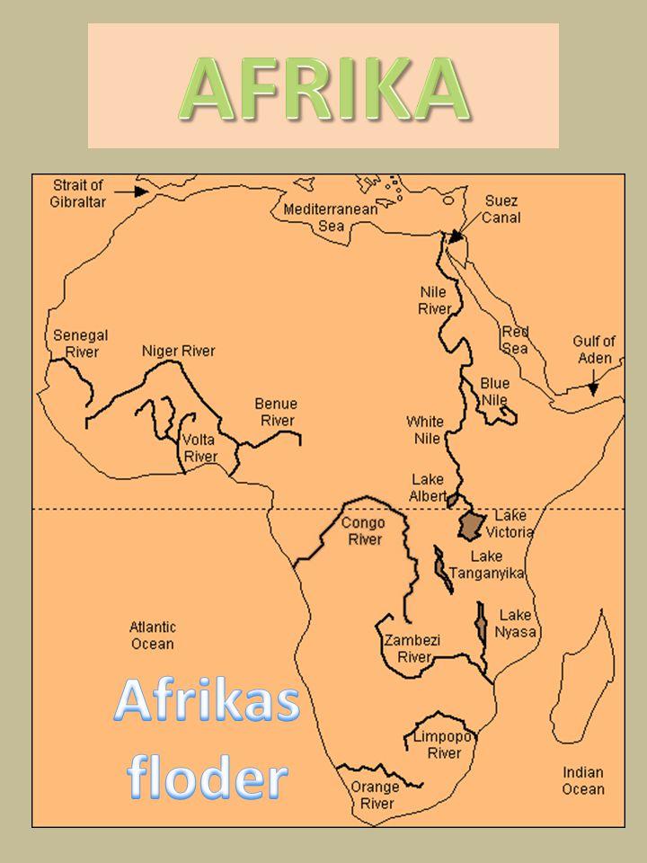 AFRIKA Afrikas floder